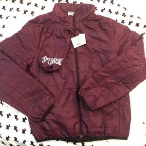 New vs pink jacket